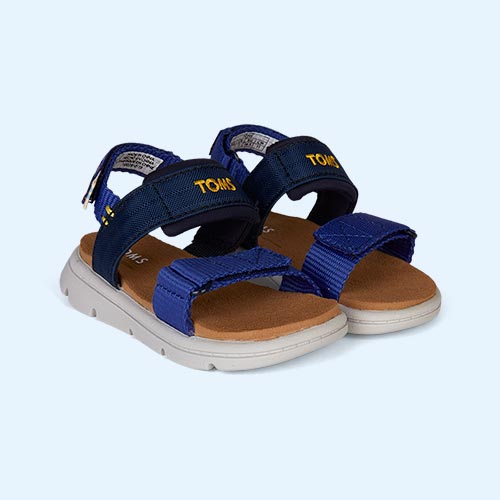 Navy TOMS Ray Water Sandal
