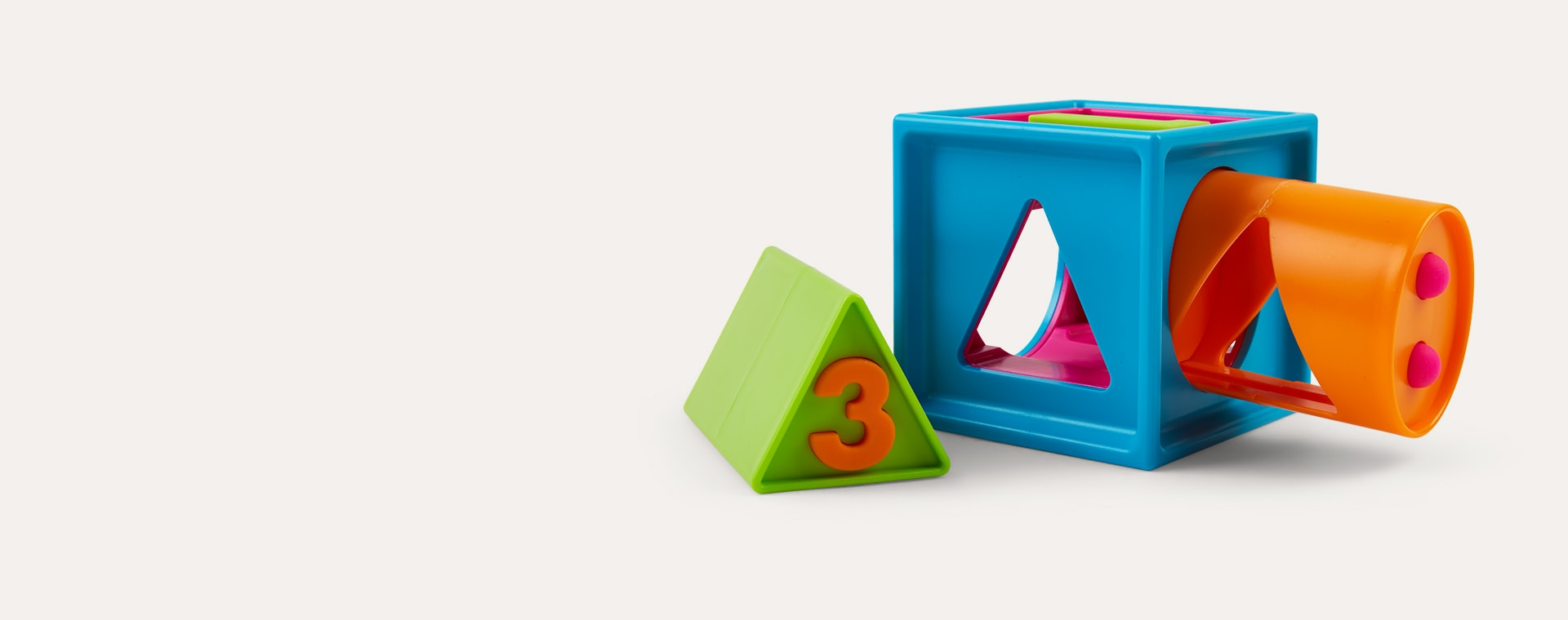 Multi Fat Brain Toys Smarty Cube 1-2-3