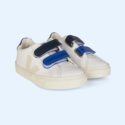 Pierre Blue Veja Esplar Small Velcro Trainer