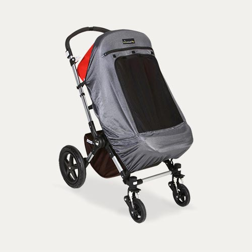 Black Snoozeshade Plus Deluxe Buggy Cover
