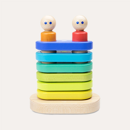 Rainbow tegu Magnetic Floating Stacker