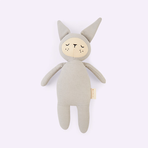 Bunny - Icy Grey Fabelab Buddy Soft Toy