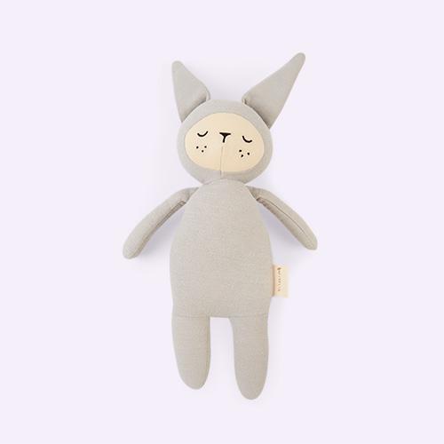 Bunny - Icy Grey Fabelab Buddy Soft Toy