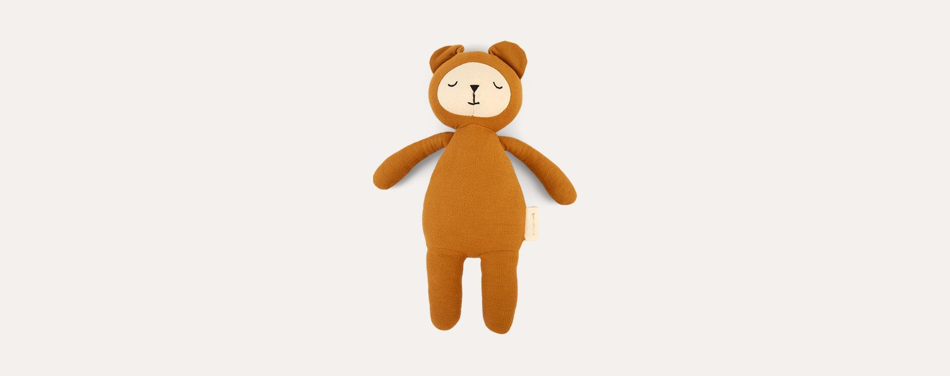 Bear - Ochre Fabelab Buddy Soft Toy