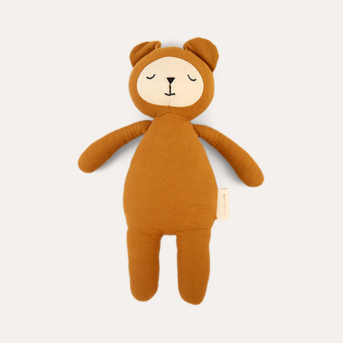 Bear - Ochre Fabelab Buddy Soft Toy