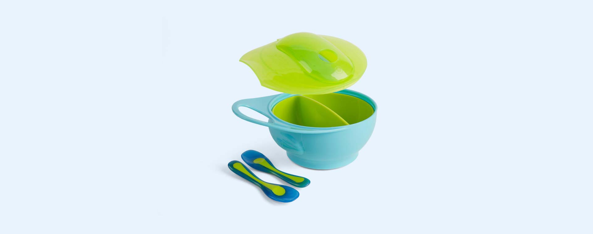 Blue Brother Max Weaning Bowl Set