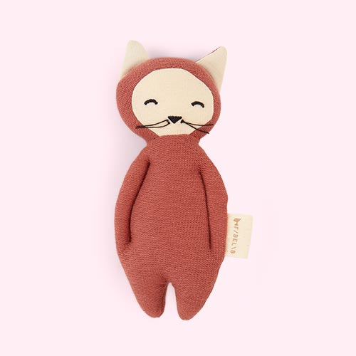 Fox - Clay Fabelab Soft Rattle