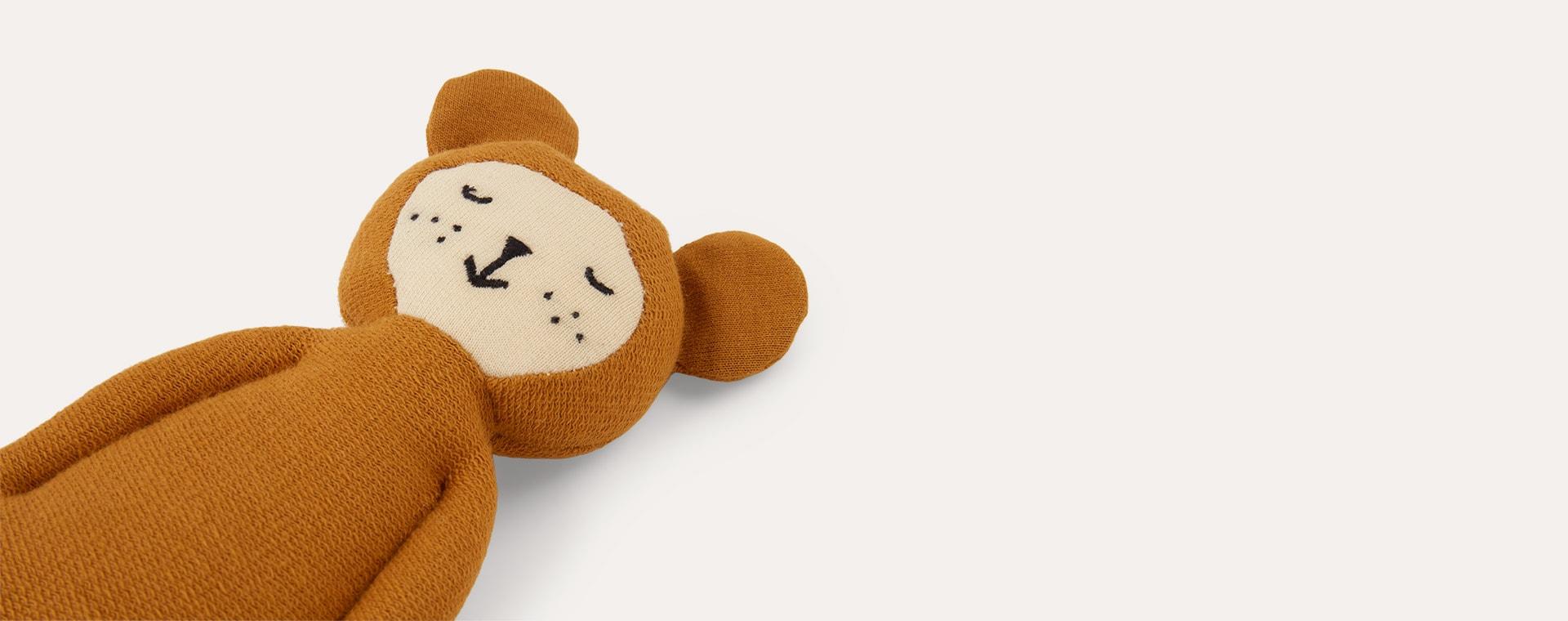 Ochre - Bear Fabelab Soft Rattle