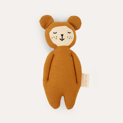 Ochre - Bear Fabelab Soft Rattle