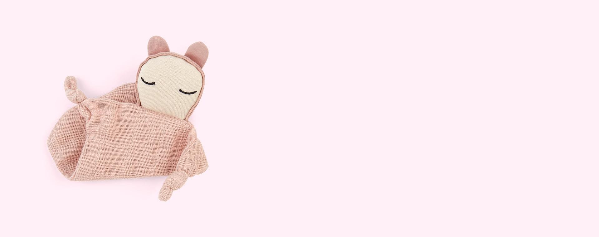 Mauve Fabelab Cuddle Doll Comforter
