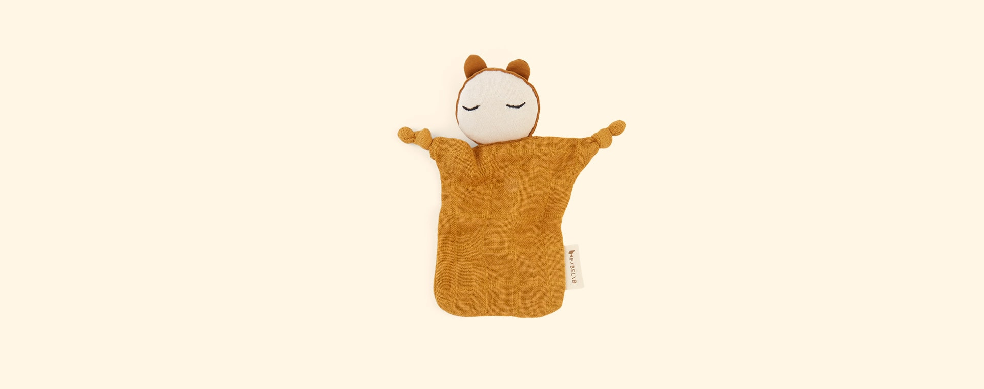 Ochre Fabelab Cuddle Doll Comforter