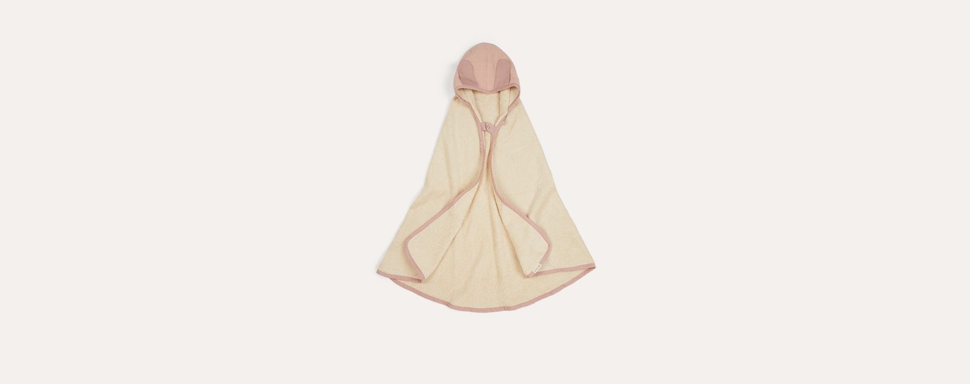 Mauve Fabelab Hooded Towel
