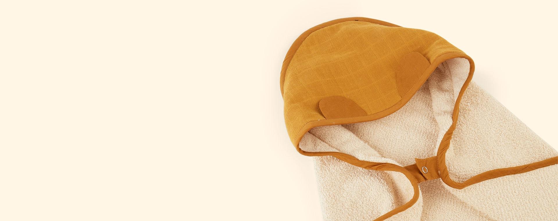 Ochre Fabelab Hooded Towel