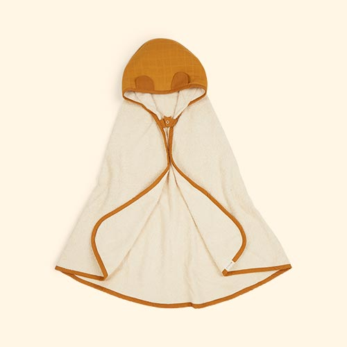 Ochre Fabelab Hooded Towel