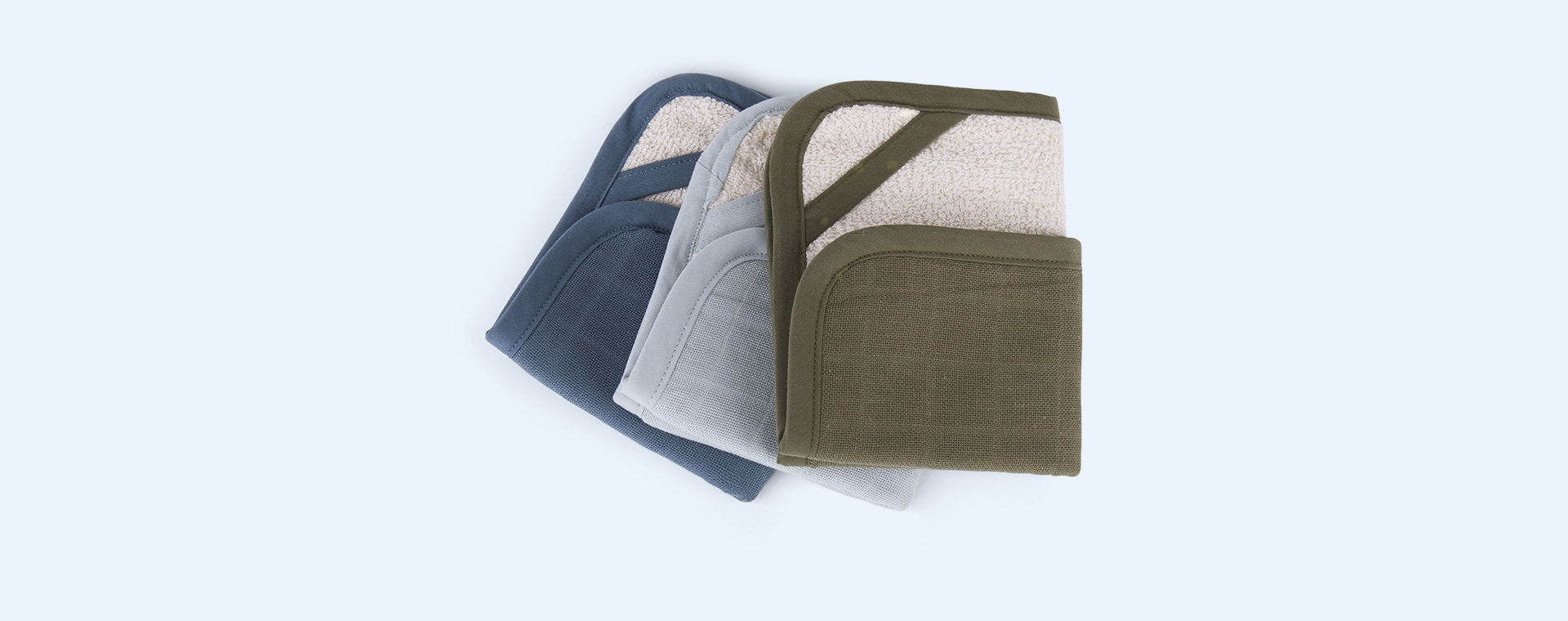 Coastal Fabelab Washcloth 3 Pack