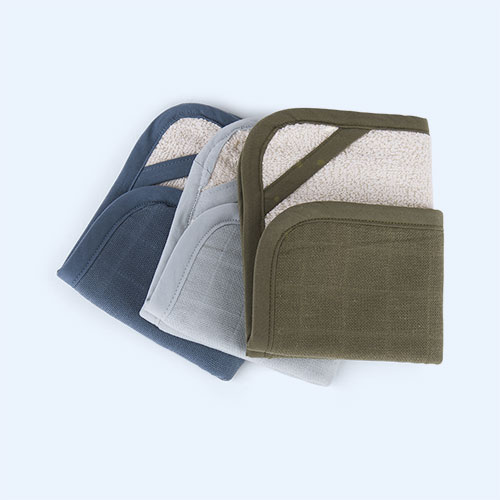 Coastal Fabelab Washcloth 3 Pack