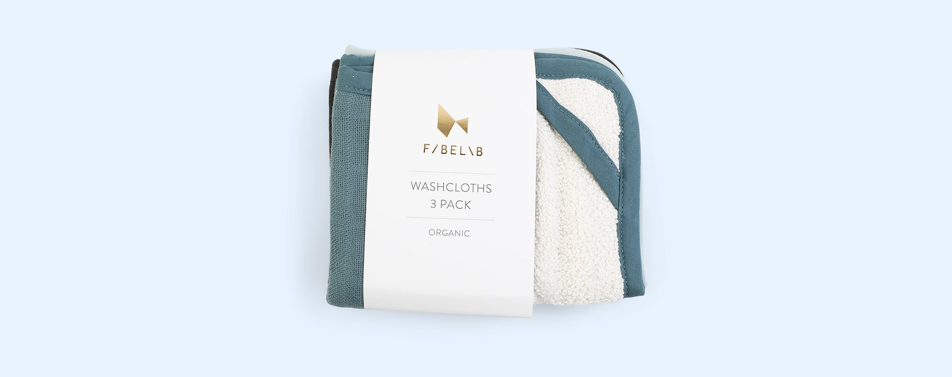 Moon Beam Fabelab 3-Pack Washcloth