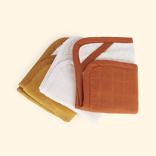 Wood Fabelab 3-Pack Washcloth