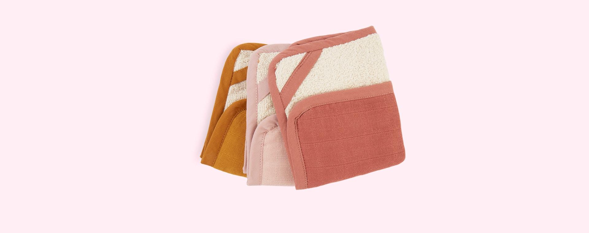 Sunset Fabelab Washcloth - 3pk
