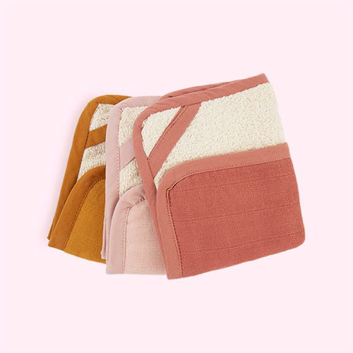 Sunset Fabelab Washcloth - 3pk