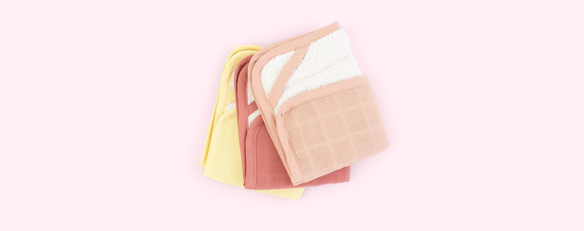 Pastel Flower Fabelab 3-Pack Washcloth