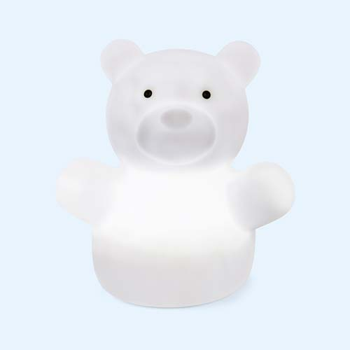 White Isi Mini Big Bear Nightlight Table Lamp