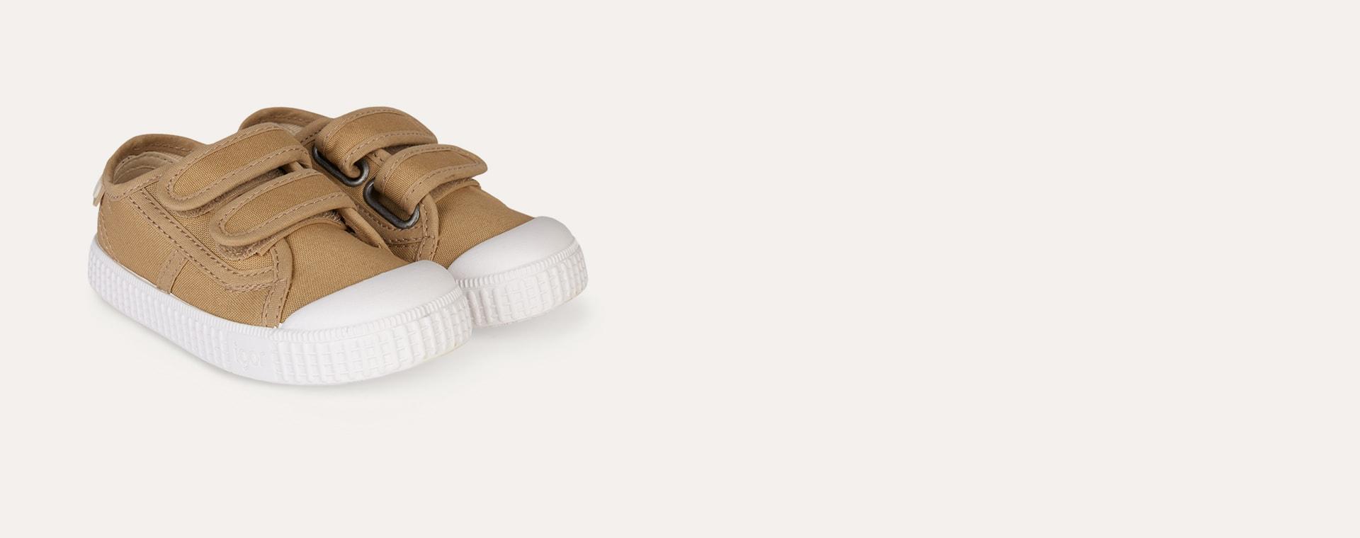 Beige igor Berri Velcro Tennis Shoe