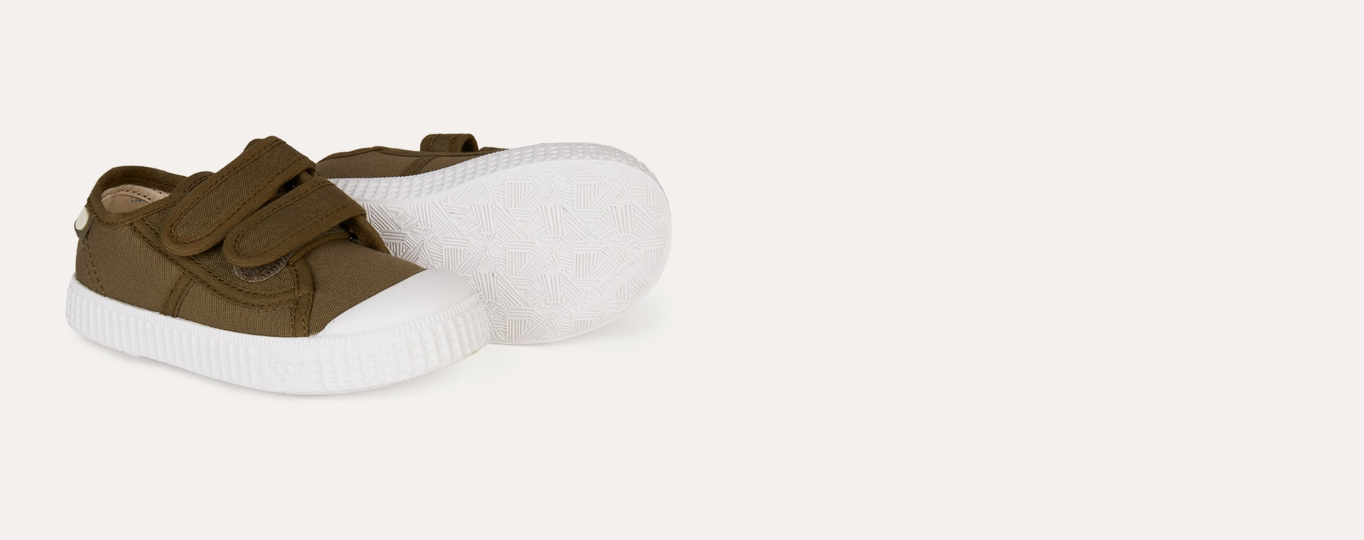 Kaki igor Berri Velcro Tennis Shoe