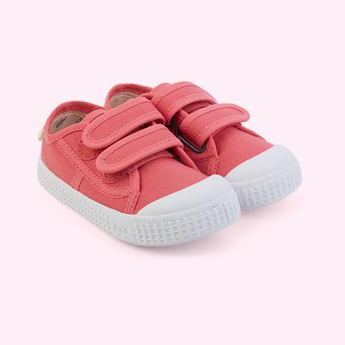 Pink igor Berri Velcro Tennis Shoe