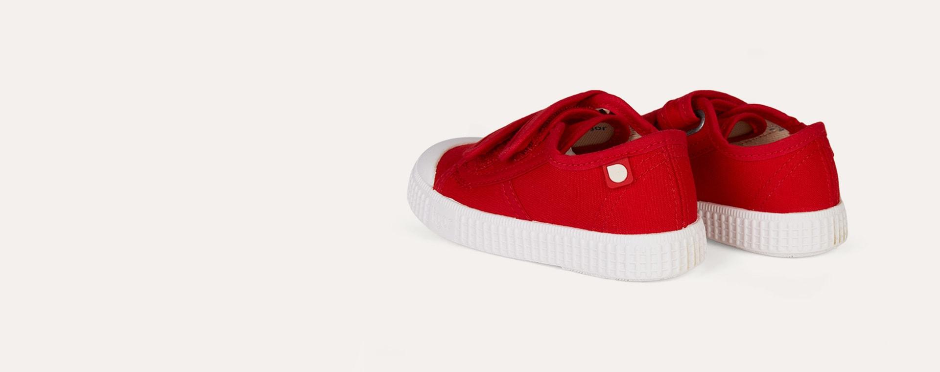 Rojo igor Berri Velcro Tennis Shoe