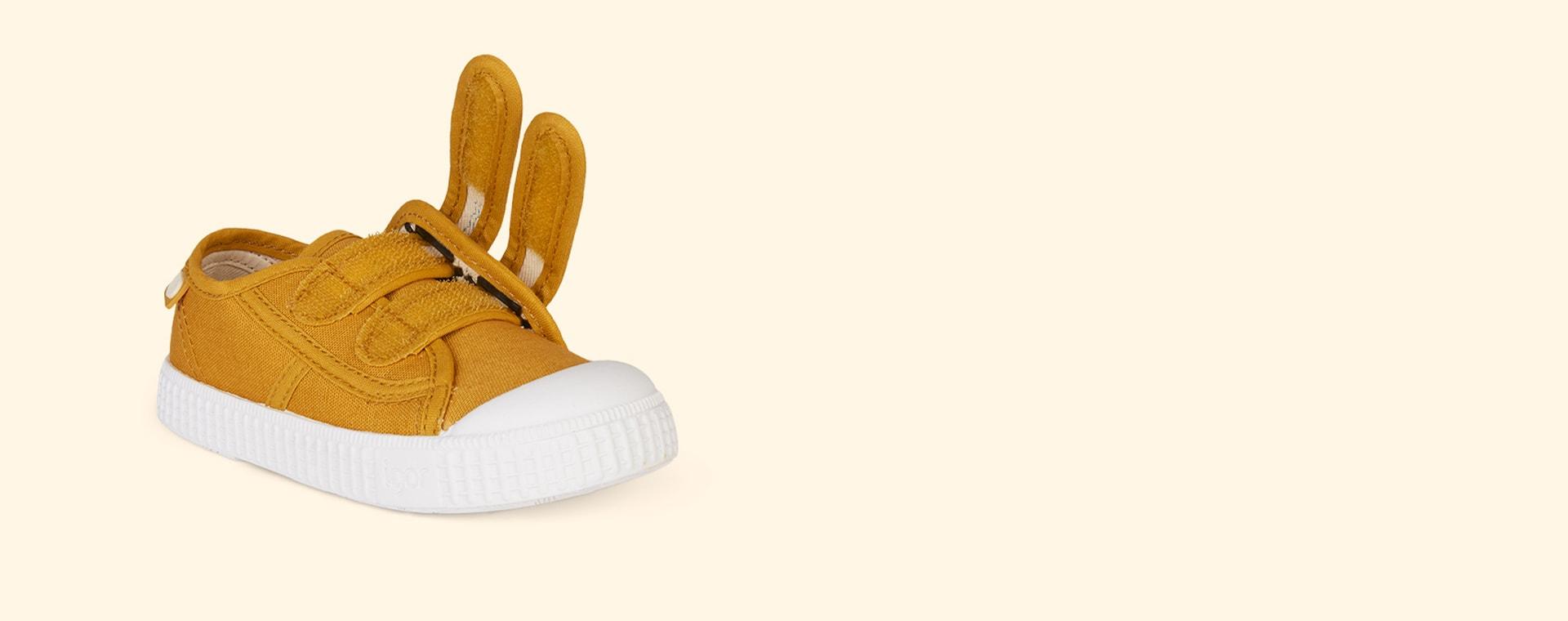 Mostaza igor Berri Velcro Tennis Shoe