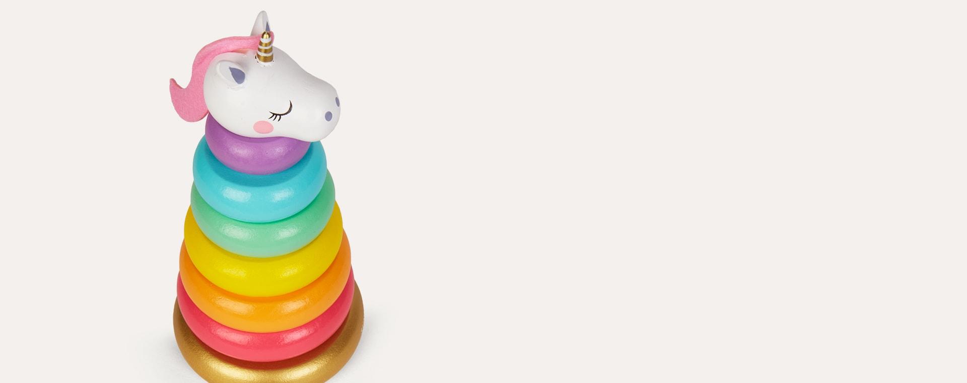 Multi Sunnylife Unicorn Stacking Toy