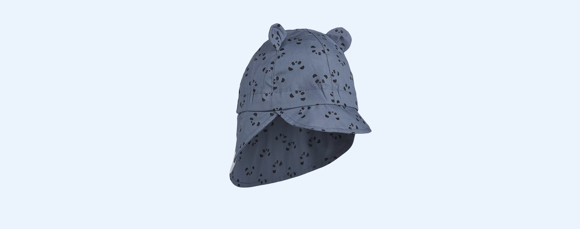 Panda Blue Wave Liewood Gorm Sun Hat