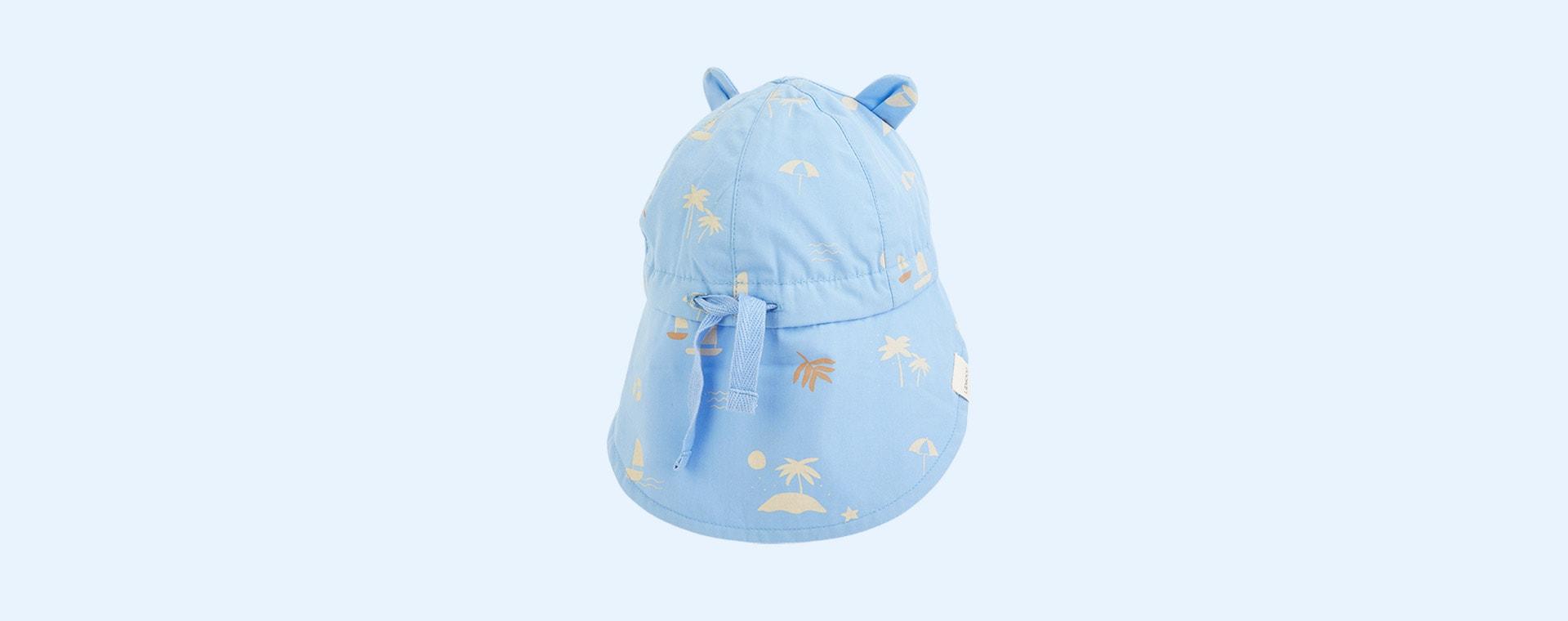 Seaside Sky Blue Liewood Gorm Sun Hat