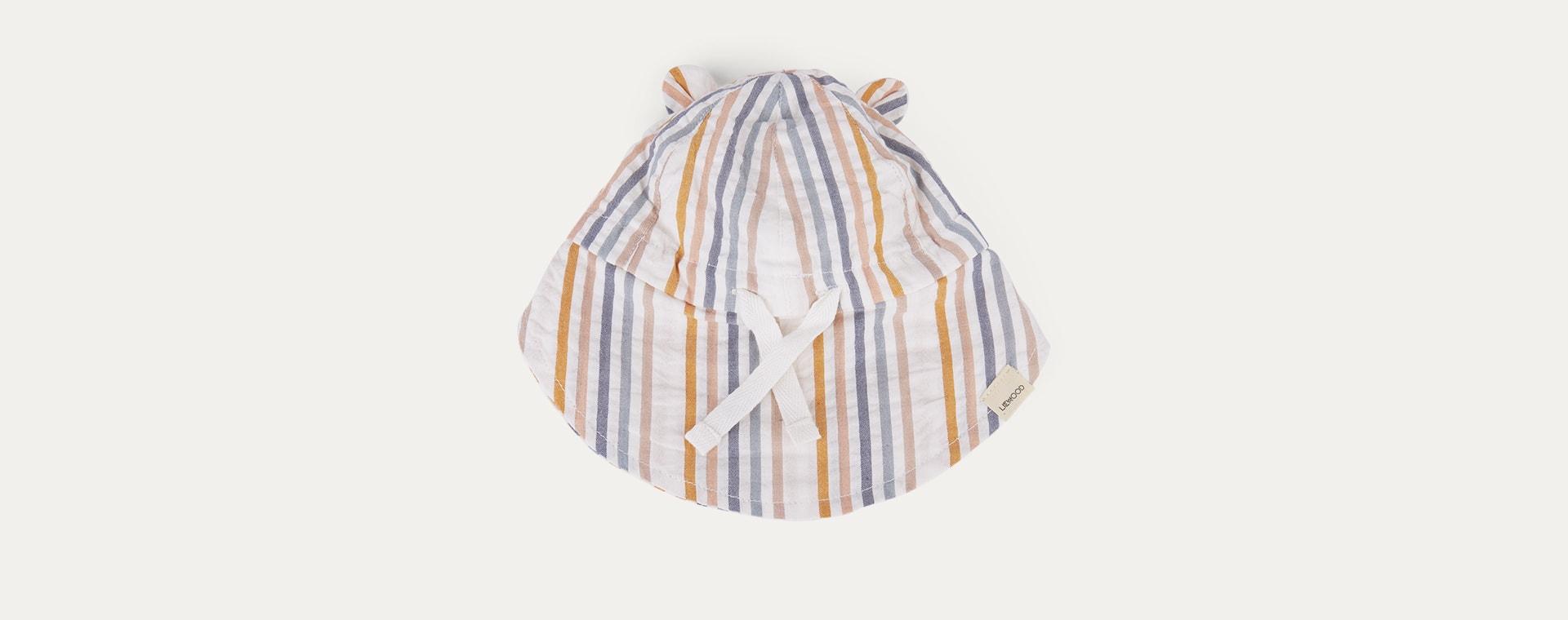 Multi Stripe Liewood Gorm Sun Hat