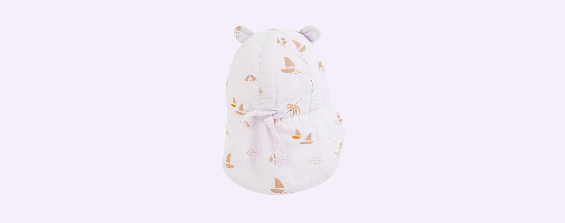 Seaside Light Lavender Liewood Gorm Sun Hat