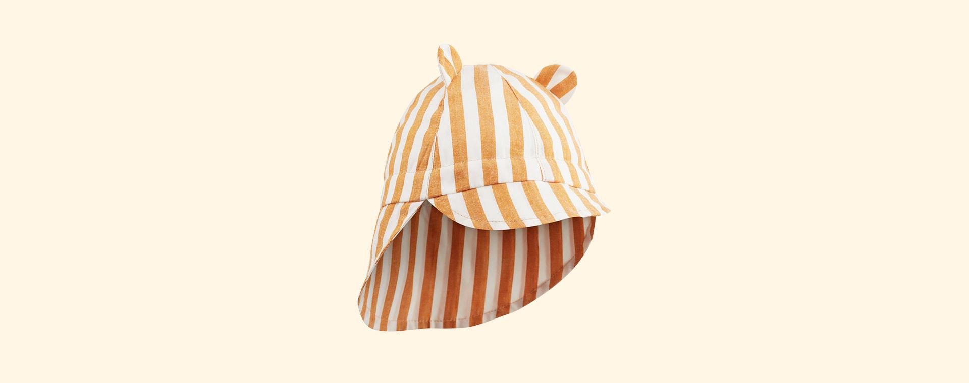 Mustard Stripe Liewood Gorm Sun Hat
