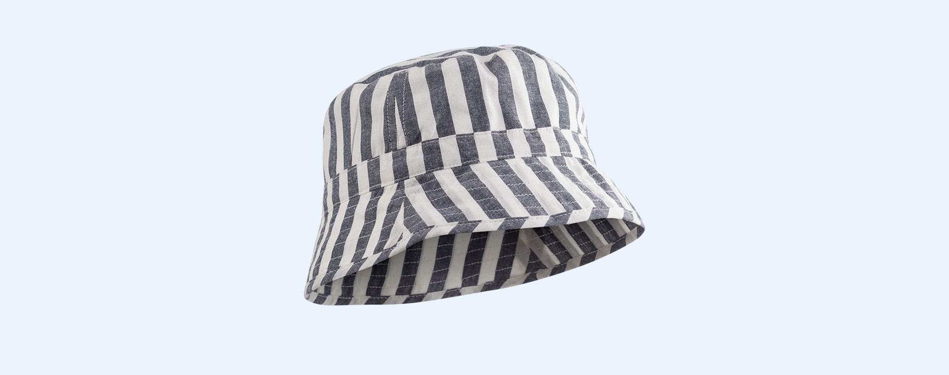 Navy Stripe Liewood Jack Bucket Hat