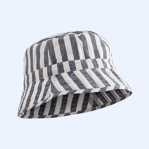 Navy Stripe Liewood Jack Bucket Hat