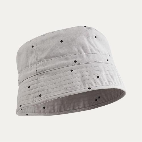 Classic Grey Dot Liewood Jack Bucket Hat