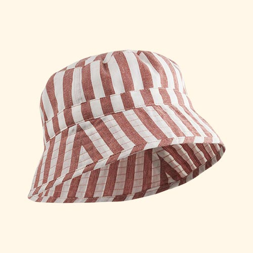 Rusty Stripe Liewood Jack Bucket Hat