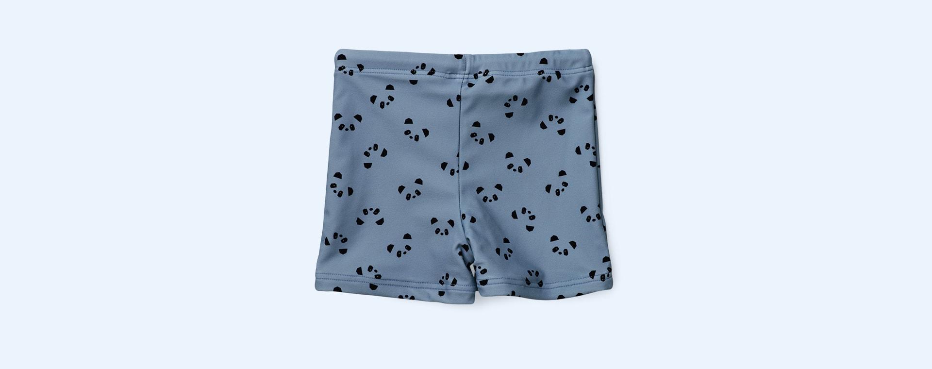 Blue Wave Panda Liewood Otto Swim Pants
