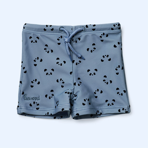 Blue Wave Panda Liewood Otto Swim Pants