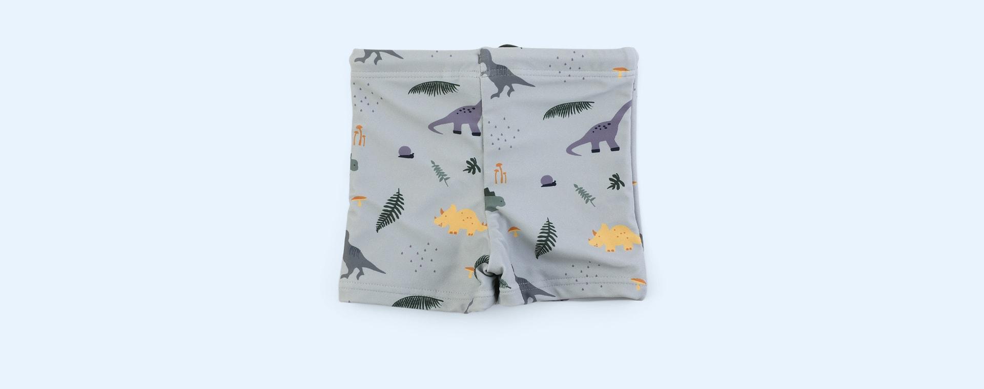 Dino dove blue mix Liewood Otto Swim Pants