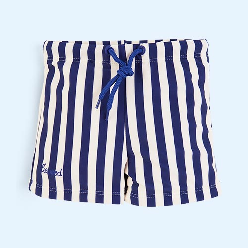 Navy Stripe Liewood Otto Swim Pants