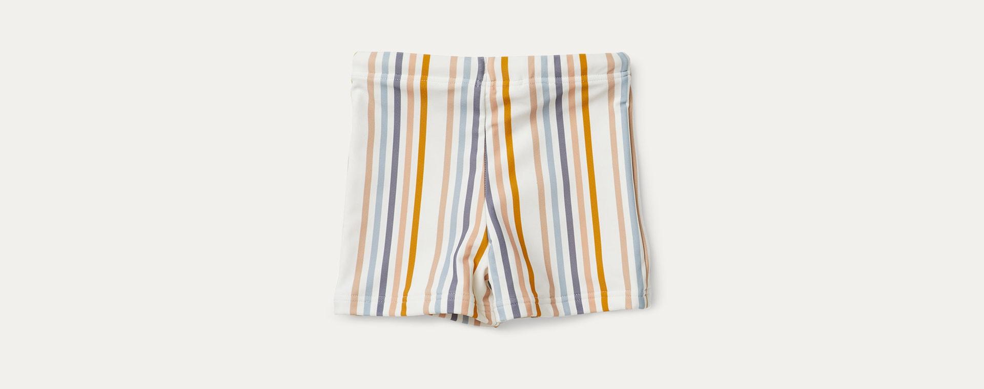 Stripe Liewood Otto Swim Pants
