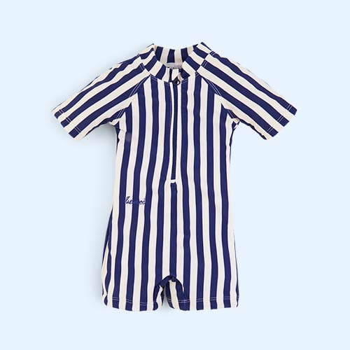 Navy Stripe Liewood Max Swim Jumpsuit
