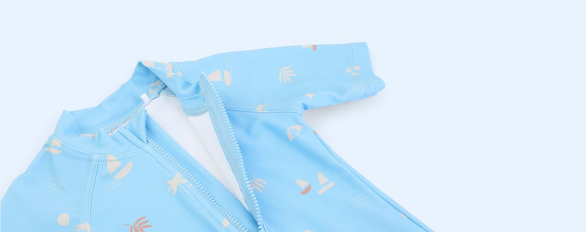 Seaside Sky Blue Liewood Max Swim Jumpsuit