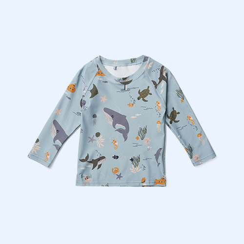 Sea Creature Mix Liewood Noah Swim Tee
