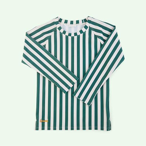 Stripe: Garden green/sandy